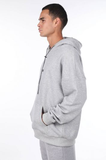 MARKAPIA MAN - Hoodie with Picture Piece Back (1)