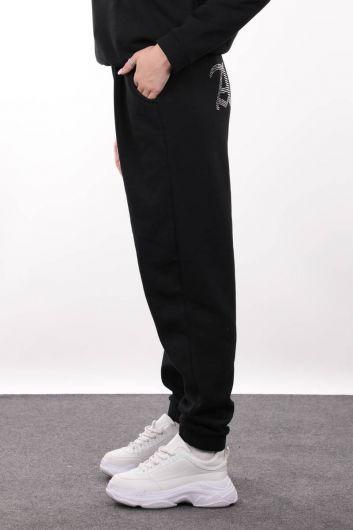 MARKAPIA WOMAN - Женский спортивный костюм-джоггер с вышивкой Black Angel Stone (1)