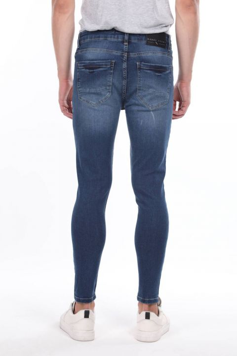 Skınny Fıt Erkek Jean Pantolon