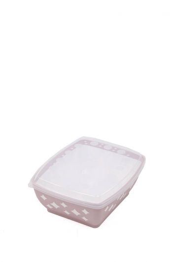 MARKAPIA HOME - Starry Rectangular Bowl with Lid 3 LT (1)