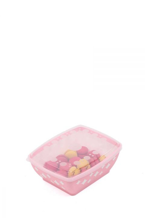 Starry Rectangular Bowl with Lid 3 LT
