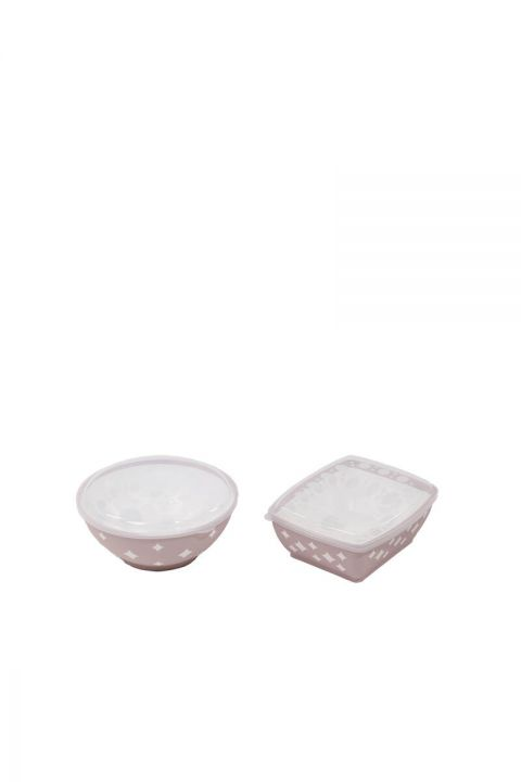 Star Round and Square Bowl Cover Set