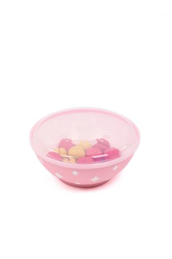 Starry Round Bowl Covered 3 LT - Thumbnail