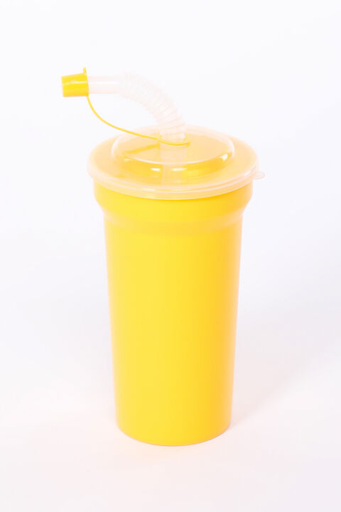 Cup With Straw With Lid