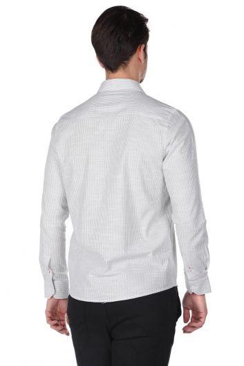 قميص رجالي مخطط - Thumbnail