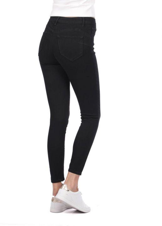 Женские черные джинсовые брюки Super Skinny