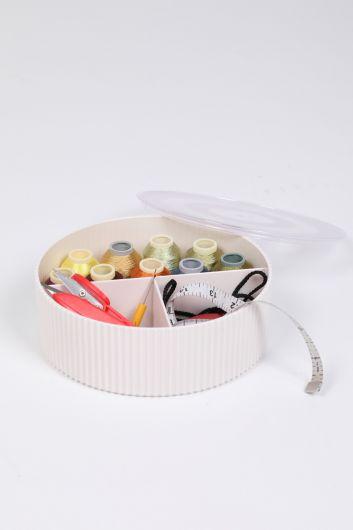 MARKAPIA HOME - Шкатулка для шитья и драгоценностей с тремя отделениями (1)
