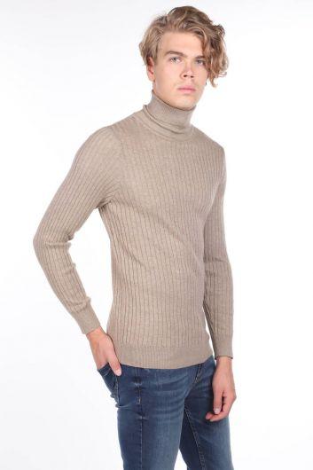 MARKAPIA MAN - Turtleneck Knitwear Men's Sweater (1)