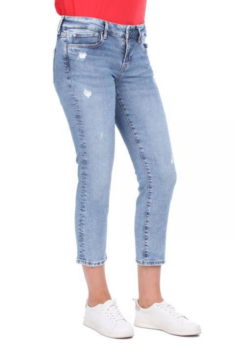 Ripped Detailed Boyfriend Jeans