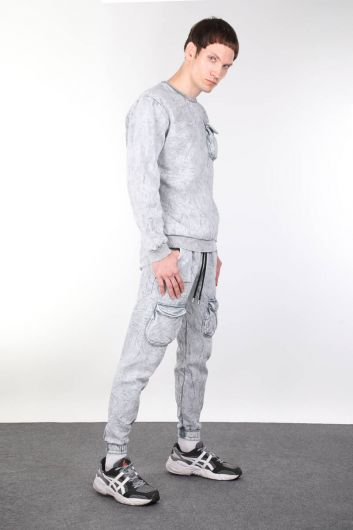 MARKAPIA MAN - Men's Sweatpants with Pockets (1)