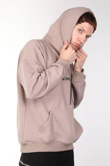 MARKAPIA MAN - Tupac Baskılı Kapüşonlu Erkek Sweatshirt (1)