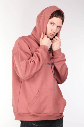 MARKAPIA MAN - Tupac Baskılı Oversize Erkek Kapüşonlu Sweatshirt (1)