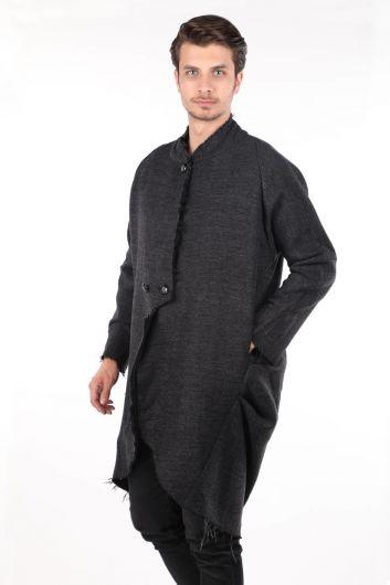 MARKAPIA - Erkek Uzun Ceket (1)