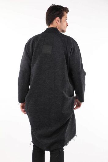 Erkek Uzun Ceket - Thumbnail