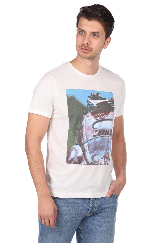Baskılı Tişört Jean Kombini
