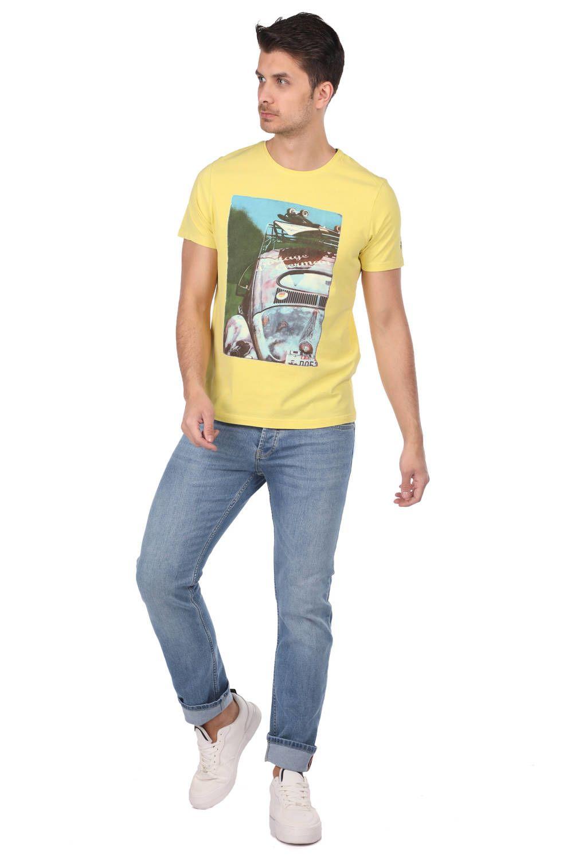 Vosvos Baskılı Erkek T-Shirt