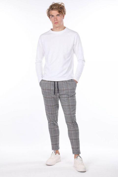 Corded Belden Plaid Men's Sweatpants
