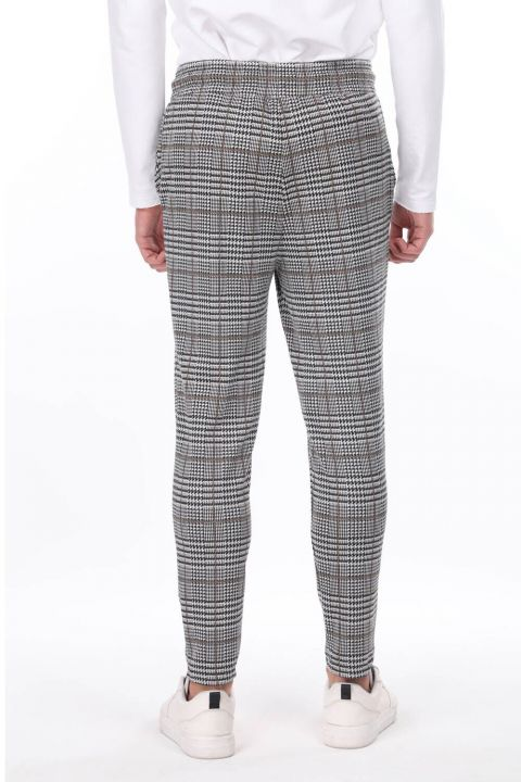 Men's Checkered Tracksuit