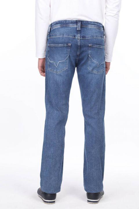 Wide Leg Men's Jean Trousers