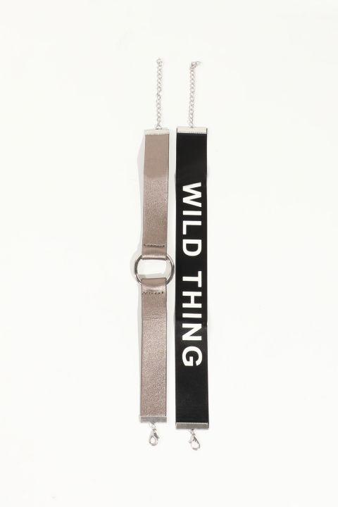 قلادة نسائية بحزام من قطعتين