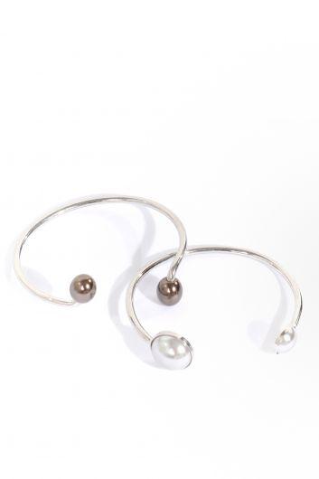MARKAPIA WOMAN - Женский браслет из двух серебряных браслетов в упаковке (1)