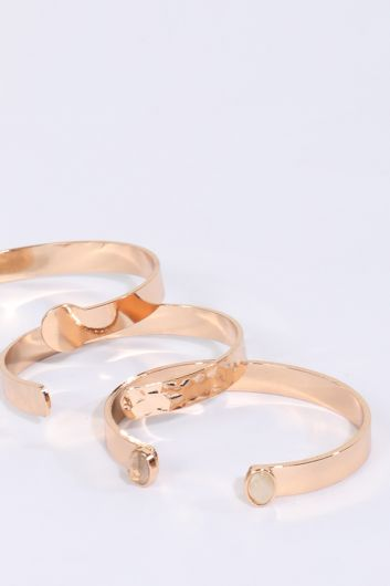 MARKAPIA WOMAN - Women's 3-pack Gold Bracelet (1)