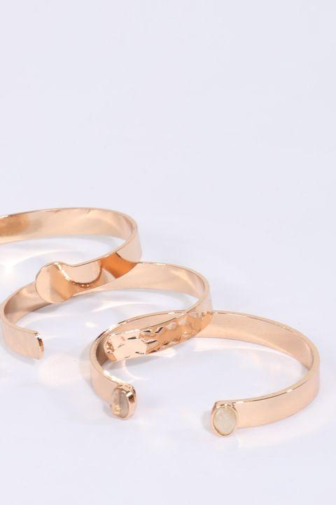 Women's 3-pack Gold Bracelet