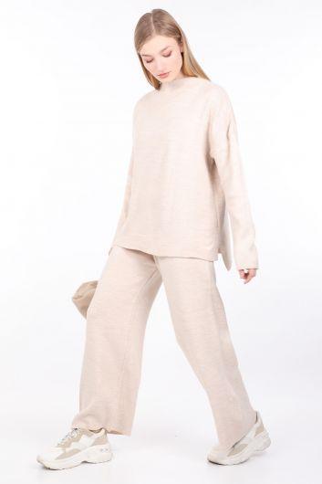 MARKAPIA WOMAN - Женский комплект нижнего верха из бежевого трикотажа (1)