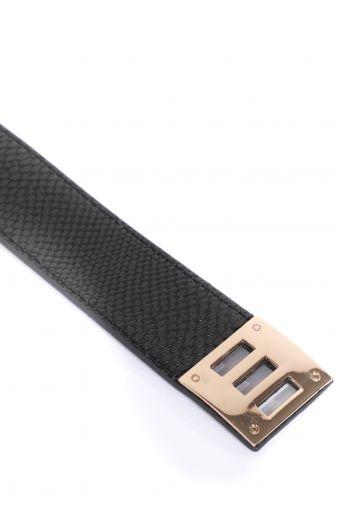 MARKAPIA WOMAN - Женский браслет с черным поясом (1)