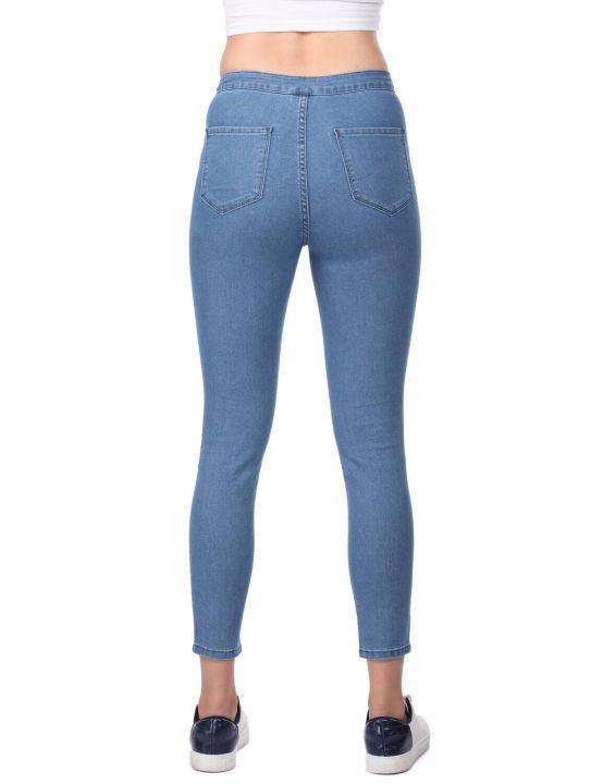 Women's Blue Super Skinny Jeans