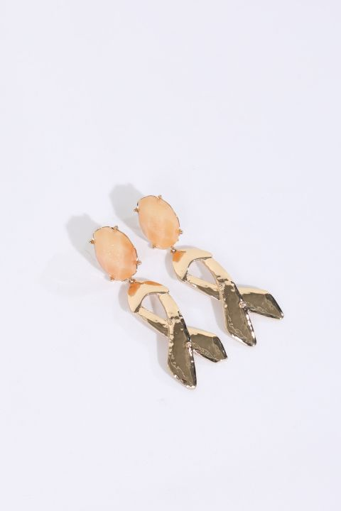 Women's Shiny Stone Dangle Earrings