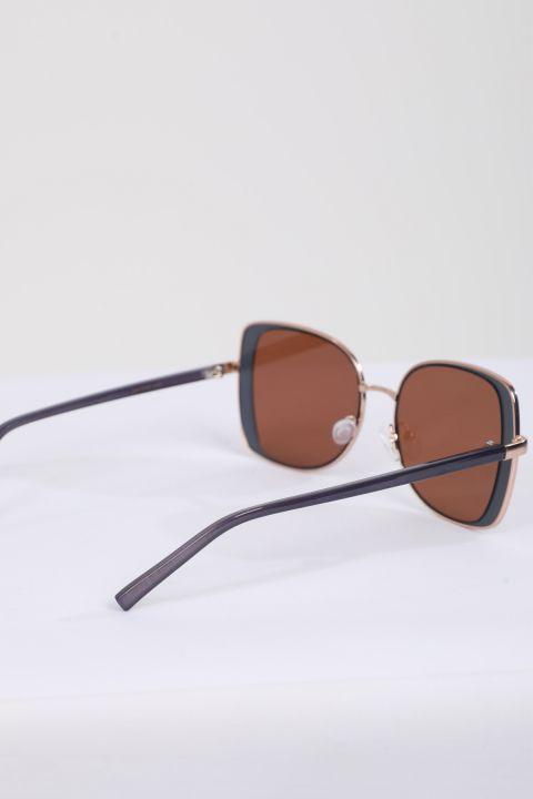 نظارة شمسية نسائية بإطار رفيع