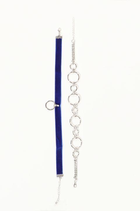 Women's Combination Choker Necklace