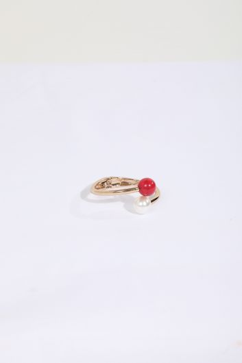 MARKAPIA WOMAN - Женский красочный золотой браслет с капюшоном (1)