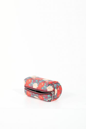 MARKAPIA WOMAN - Women's Floral Zippered Makeup Bag (1)