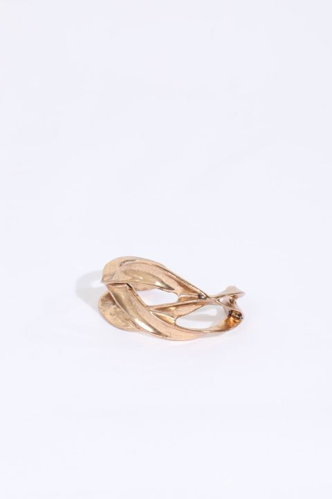 Women's Gold Thick Bracelet