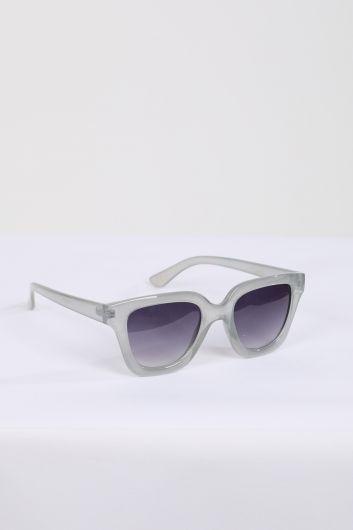 MARKAPIA WOMAN - Женские солнцезащитные очки в серой оправе (1)