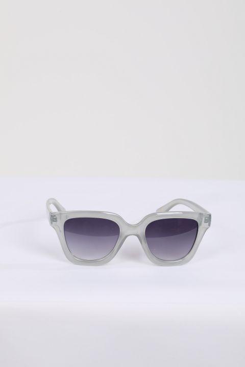 Women's Gray Frame Sunglasses