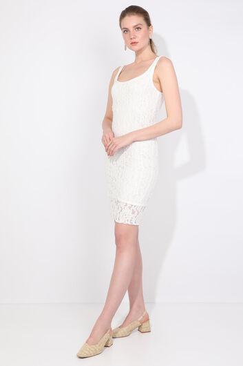 MARKAPIA WOMAN - Женское кружевное платье с ремешками (1)