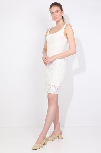 MARKAPIA WOMAN - Women's Strap Lace Dress (1)