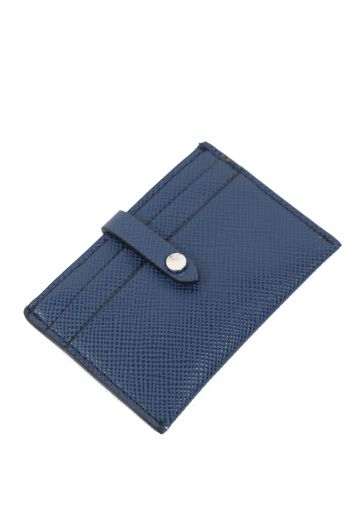 Women's Indigo Mini Wallet and Card Holder - Thumbnail