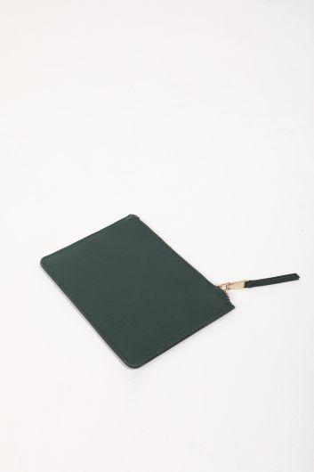 MARKAPIA WOMAN - Женская миниатюрная ручная сумка с карманами цвета хаки (1)