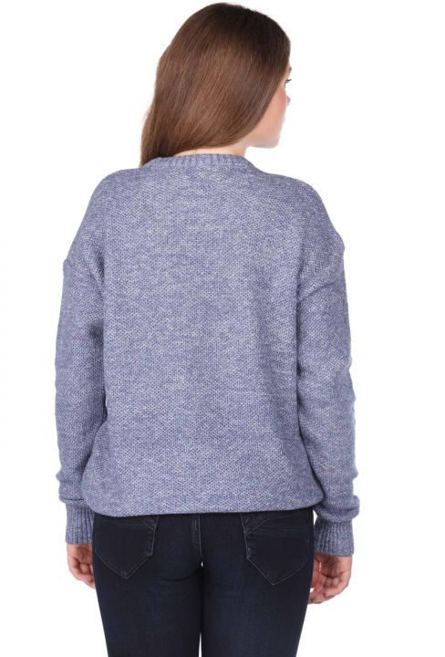 Markapia Crew Neck Women's Knitwear Sweater
