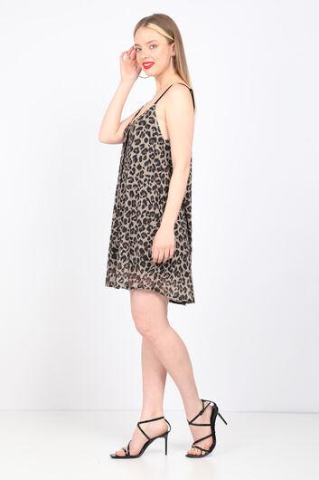 MARKAPIA WOMAN - Women's Leopard Strap Dress (1)
