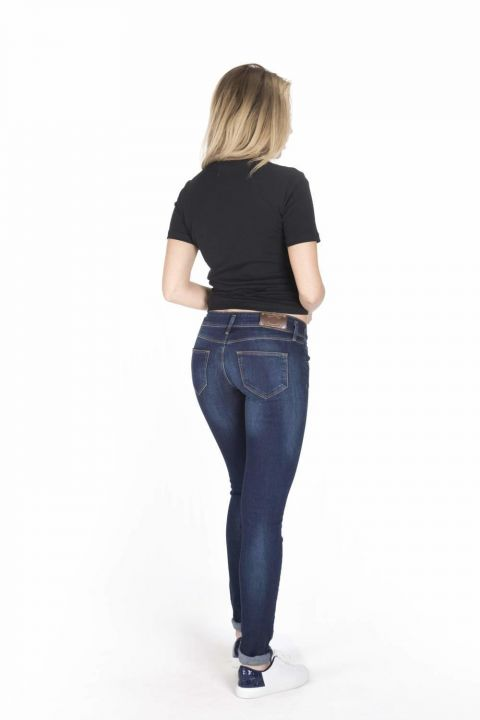 Women's Low Rise Slim Fit Jean Trousers