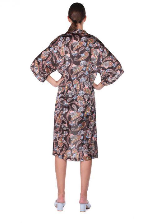 Женская куртка-кимоно с рисунком Markapıa