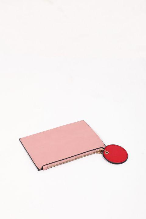 حقيبة يد صغيرة وردية نسائية