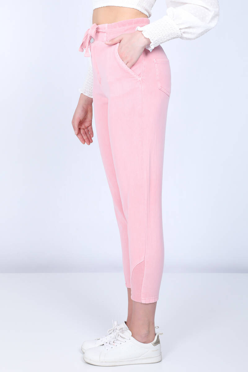 Pink Mom Jeans For Women