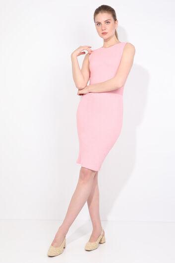 MARKAPIA WOMAN - Женское розовое облегающее платье (1)