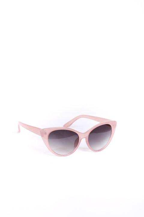 المرأة النظارات الشمسية مسحوق القط العين